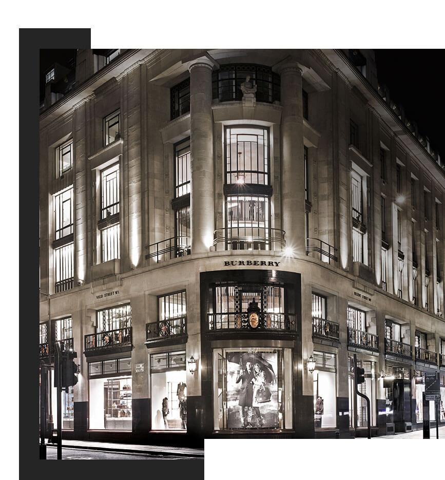 scenting Burberry flagship store london by zaluti